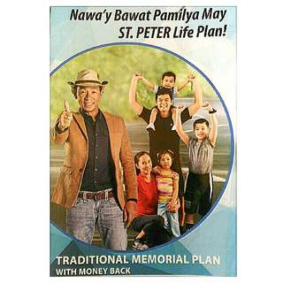 Traditional Memorial Plan with Money Back