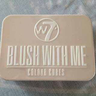 W7 blush with me colour cubes - getting hitched