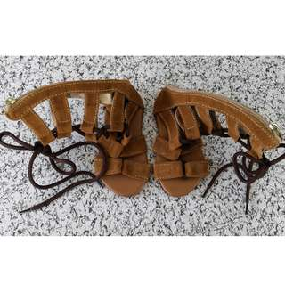 💞Preloved! Gladiator Sandals - 13cm