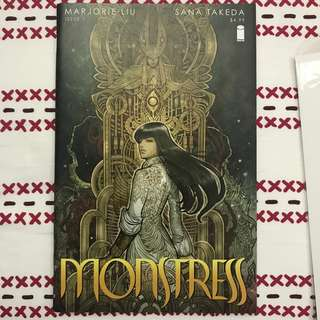 IMAGE COMICS MONSTRESS #1-10 COMPLETE RUN FIRST PRINT PLUS BONUS MARJORIE LIU SANA TAKEDA VF+/NM-