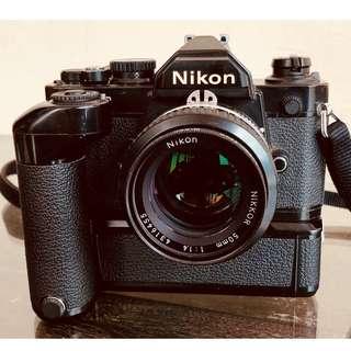 NIKON FM2 + MD-12 + NIKKOR 50mm 1 : 1.4