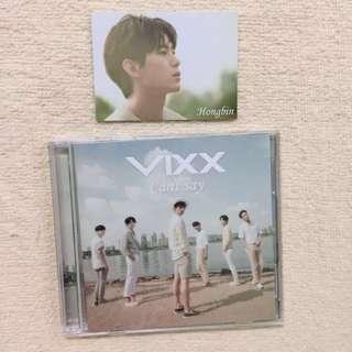 WTS VIXX CANT SAY Japan Album