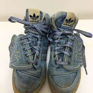 Adidas Jeremy Scott Denim Wings Shoes