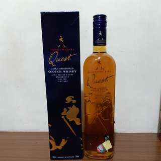 Johnnie walker Quest 750ml whisky