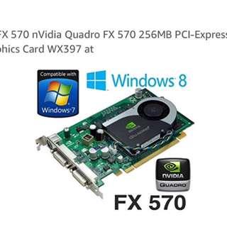 VGA card Quadro FX570 256 mb
