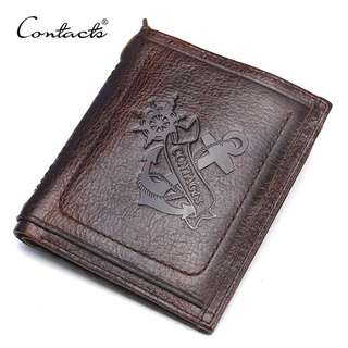 Genuine Leather Wallet for Men (PN014)