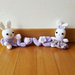 Crochet: Bunny couple