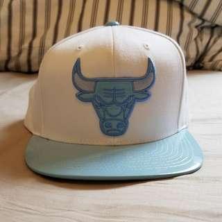 芝加哥公牛 Baseball Cap 帽 白襯粉藍色 購自美國 全新