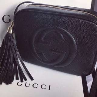 Gucci Soho Leather Disco Shoulder Bag