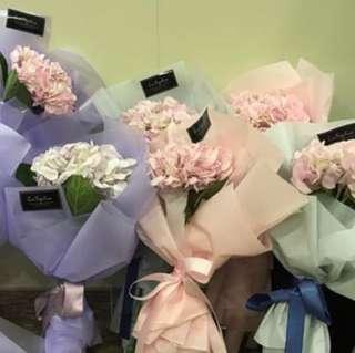 繡球花花束💐
