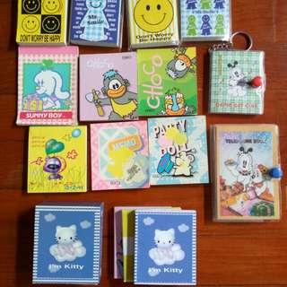 FREE Cute Mini Memo Pads & Booklets