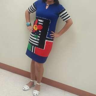 Happy dress (Plus Size)                                        Original Price:PHP700