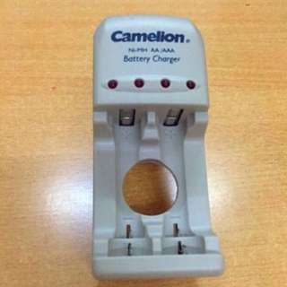 Used CAMELION RECHARGEABLE BATTERY CHARGER BC-1