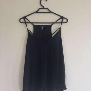 Forever 21 black sleeveless top