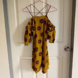 NEW!! Mustard Dress
