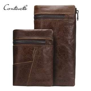 Genuine Leather Wallet for Men (PN017)