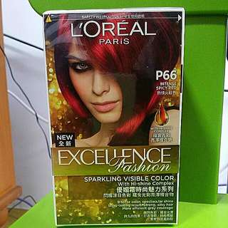 Loreal Paris Hair Dye intense spicy red