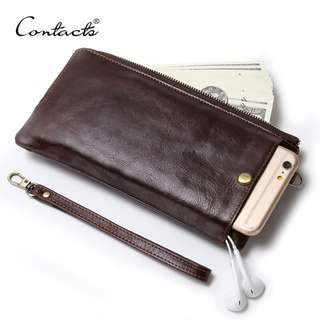 Genuine Leather Wallet for Men (PN018)