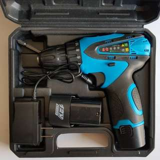 New 12Volts 1.5Ah Double Speed Cordless Drill/Driver