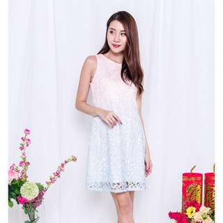 BN PXD Ombre Crochet Dress