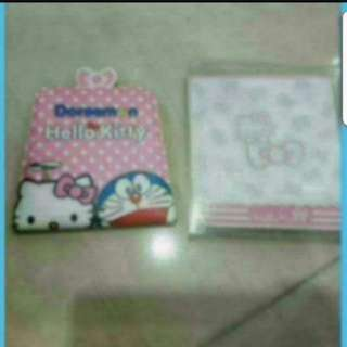 In Stock Hello Kitty Pocket Mirror With 1 Card Slot 10 × 10cm
