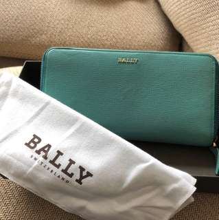 Belly blue long wallet