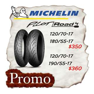 Michelin Pilot Road 4 Promotion