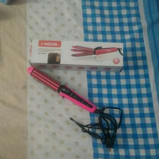 3 IN 1 HAIR CURLER AND STRAIGHTENING