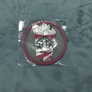 Starbucks coaster pink