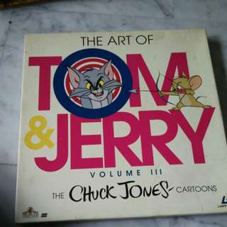 Tom and Jerry x 3 LD Discs