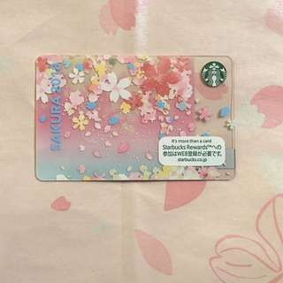 🇯🇵 Starbucks Japan Card Sakura 2018 Looking Back