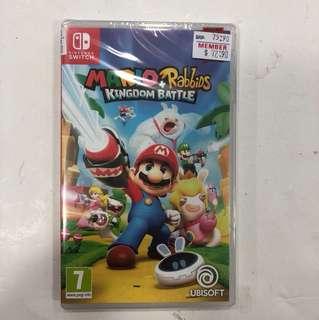 Nintendo Switch Brandnew Mario Rabbids