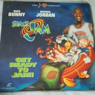 Space Jam x 1 LD Discs