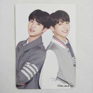 BTS Official 4th Muster Mini Photocard - Group