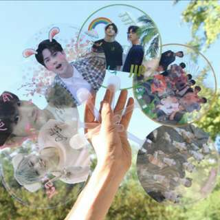 Kpop Transparent Fans