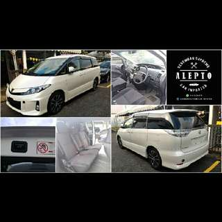 Toyota Estima Aeras 8 Luxury Seater