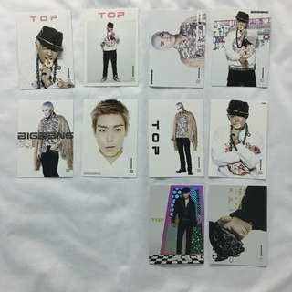 BIG BANG COLLCETION CARD (TOP)