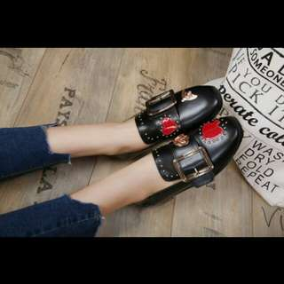 Bally flat shoes 2 warna sz 36 - 40