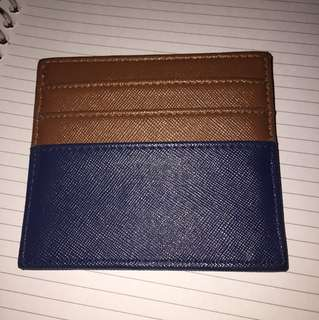 card holder 2 tone color