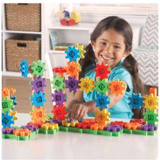 Learning Resources Gears! Gears! Gears! Deluxe Building Set, 100 Pieces