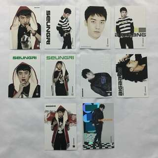 BIG BANG COLLCETION CARD (SEUNGRI)
