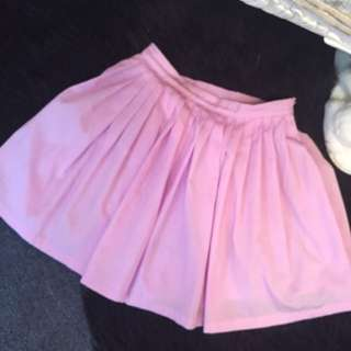 Paper hearts Lilac Purple pleated tennis skirt