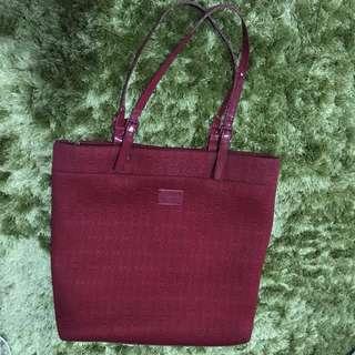 Michael Kors Red Tote Bag