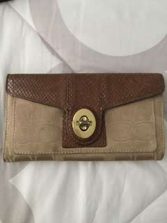 Guaranteed Authentic coach wallet