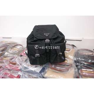 Prada Classic Backpack Black 1BZ811