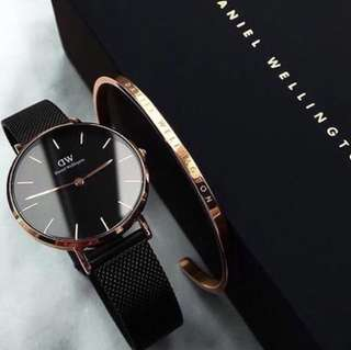 Daniel Wellington Original w/ FREE BANGLE (FREE SF via LBC)
