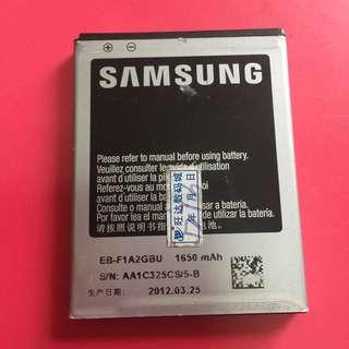 Samsung 電話電池 mobile battery GB T18287-2000 li-ion battery 1650mAH