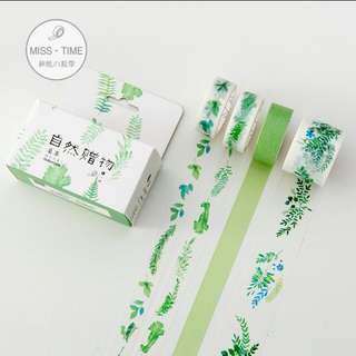 Po set of 4 Washi Tape