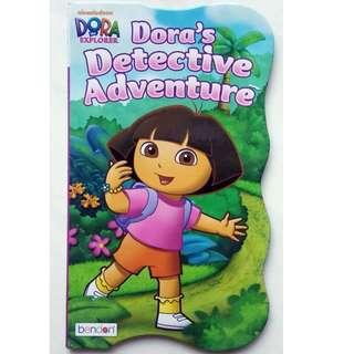 Dora's Detective Adventure - Board Book