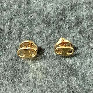 Tory Burch Earrings 金色鎖耳環
